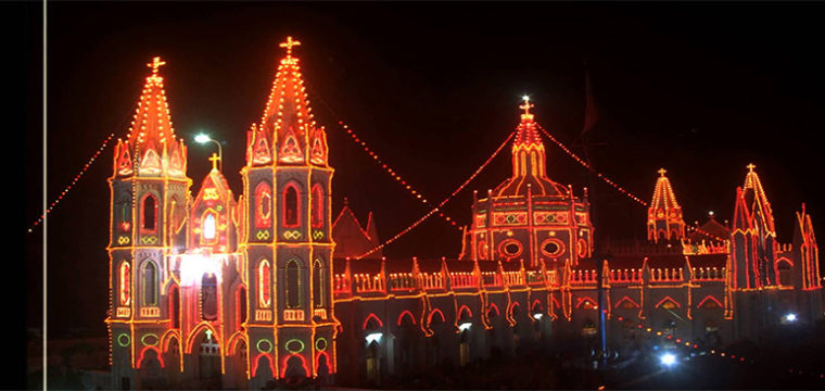 velankanni-night